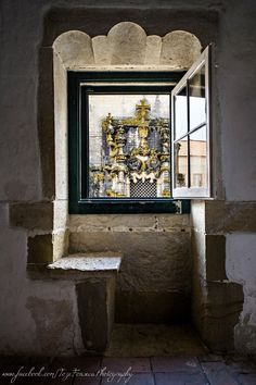 Capítulo window at Tomar Convent #Portugal