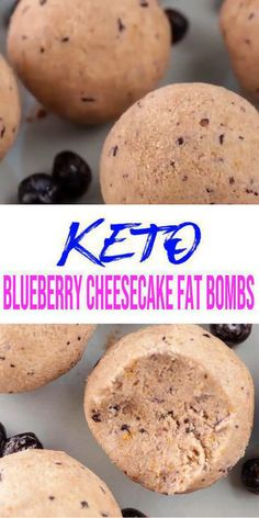 5 Ingredient Keto Blueberry Cheesecake Fat Bombs – BEST Blueberry Cream Cheese Fat Bombs – NO Bake – Easy NO Sugar Low Carb Recipe – Keto Friendly & Beginner – Desserts – Snacks - Timotheus Fendt Cheesecake Fat Bombs Keto, Perfect Cheesecake Recipe, Blueberry Cheesecake, Healthy Veg Recipes, Easy Delicious Recipes, Keto Recipes, Dessert Recipes, Cream Cheese Fat Bombs, Chocolate Fat Bombs