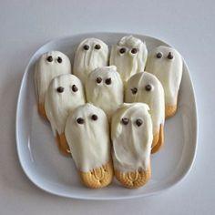Des biscuits fantôme trop mignons !