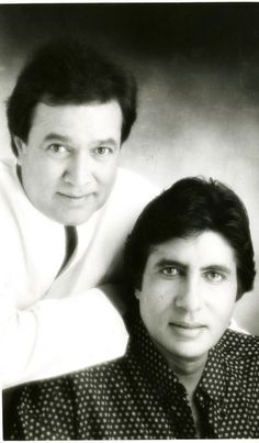 The two Legends of Bollywood film industry: Rajesh Khanna and Amitabh Bachchan
