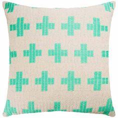 Lifesaver Cushion 50x50cm Scatter Cushions, Throw Pillows, Freedom Furniture, Life Savers, Soft Furnishings, Jade, Decorating Ideas, Mint, Grey