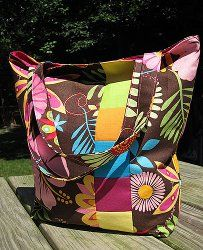 Tropical Summer Bag   FaveQuilts.com