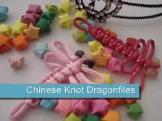 Tutorial: Chinese Knot Dragonflies - YouTube