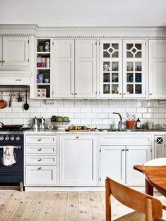 nice 99 Traditional Swedish Home Decor Ideas [post_link] Kitchen Dinning, New Kitchen, Kitchen Decor, Kitchen Ideas, Swedish Home Decor, Swedish House, Design Studio, Home Design, Modern Design