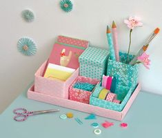 Mes jolies petites boîtes – L'atelier Agité