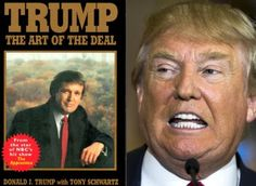 """The Art of the Deal is a 1987 book credited to businessman and current President of the United States Donald Trump and journalist Tony Schwartz. Part memoir and part business-advice book, it reached number 1 on The New York Times Best Seller list, stayed there for 13 weeks, and altogether held a position on the list for 48 weeks. It was the first book published by Trump and helped to make him a """"household name""""."""
