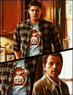 Wuv his shirt