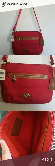 3d6bf8d3fe70 Coach purse Cute red coach purse. Perfect for daily use. Brand new with tags