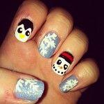 Jazzy christmas nail art! #FestiveFingertips