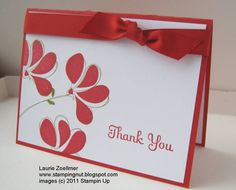 Clean and Simple Awash With Flowers by imamuttnut - Cards and Paper Crafts at Splitcoaststampers