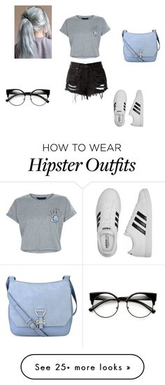 """""""Untitled #664"""" by aylaakayy on Polyvore featuring New Look, adidas and Nine West"""