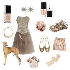 """Ballet Tea"" by harpgoddess on Polyvore featuring Chicwish, La Perla, MAKE UP FOR EVER, Bee Goddess, Oscar de la Renta, Accessorize, Repetto, Mary Green and Margaret Howell"