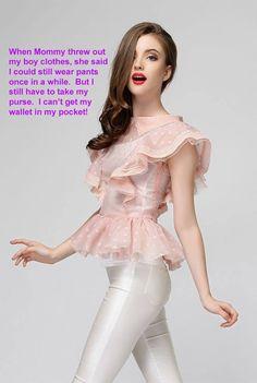 Captions for Sissy Bimbos : Photo