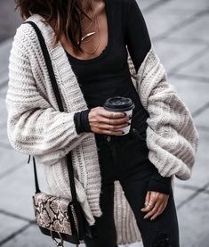 Big knits & layered