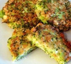 Detail receptu - Karbanátky z brokolice Brocolli, Quiche, Hamburger, Easy Meals, Food And Drink, Low Carb, Cooking Recipes, Gluten Free, Vegetarian