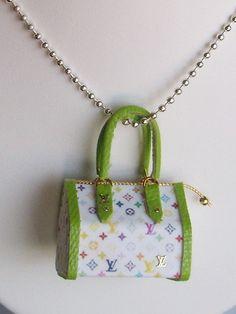 Miniatura bolso colgante joyas joyerías por VALBUENACREATIVA