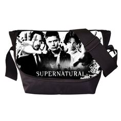 Tv Show Supernatural Young Men Women Messenger Bag Casual Travel Bag Boys Shoulder Bags Girls School Bags For Teenagers