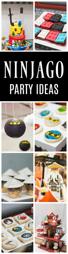 Awesome Ninjago Themed Birthday Party on Pretty My Party