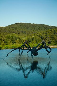 L'art en pleine nature : Louise Bourgeois, Château La Coste © Louise Bourgeois Foundation. ADAGP Paris 2015