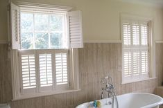 #Shutters for #Sash windows by #PlantationShutters London UK