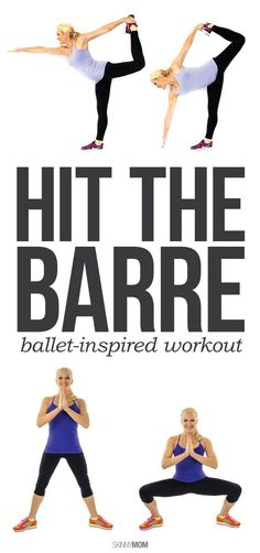 Get a total-body workout with this ballet-inspired workout!