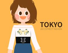 """Check out new work on my @Behance portfolio: """"2017 TOKYO girl's fashion in S/S"""" http://be.net/gallery/50799913/2017-TOKYO-girls-fashion-in-SS"""