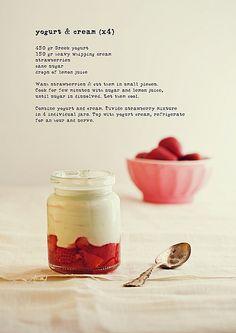 Yogurt & Cream.