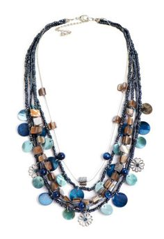 Multistrand Shell Necklace