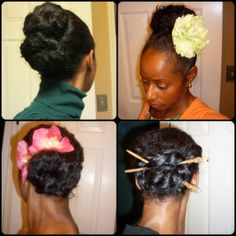 Best Bun Practices for Length Retention | Curly Nikki | Natural Hair Styles and Natural Hair Care