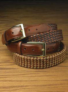 Italian Tubular Braided Belt