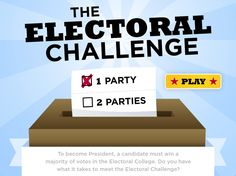 Take the Electoral Challenge from Scholastic! Great way to test your family's knowledge about the electoral process in advance of the 2012 presidential election. 5th Grade Social Studies, Social Studies Classroom, Social Studies Activities, Teaching Social Studies, Teaching History, Classroom Activities, Teaching Kids, President Election, Election Games
