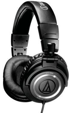 Audio-Technica ATH-M50 Professional Studio Monitor Headphones with Coiled Cable Audio-Technica http://www.amazon.com/dp/B000ULAP4U/ref=cm_sw_r_pi_dp_t6G6tb022YE64