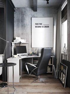 Dream of a Gamer: Industrial Apartment in Russia, Inspiration, Architecture, Design, Brain, Artnaz.com