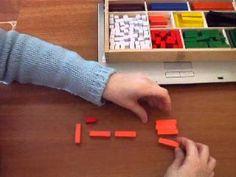 ▶ POTENCIAS CON REGLETAS DE CUISENAIRE - YouTube Math 4 Kids, Montessori, Homeschool, Classroom, Teaching, Maths, Youtube, Videos, Activities For Kids