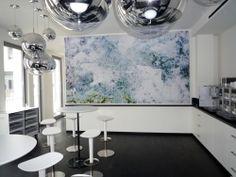 Linde AG Oberanger München Coffe-copy Point Bilder mit integriertem Schallschutz