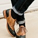 Oxfords are the key to an effortless yet composed look. They are less formal than dress shoes while not as casual as Chukkas. Oxfords are classic for smart dressing, as indicated by its name.  How to  Look to slightly rounder toes to ensure a less formal finished. Broguing, decorative perforations, are more traditional and viewed as dressier. To highlight these shoes, pair with ankle crop trousers or rolled hems. Wear a bold pair of coloured or printed socks instead of classic black for…