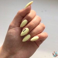 2019 is the most worthy of the exquisite nail art idea - Page 87 of 114 - Inspiration Diary Nails Id Best Acrylic Nails, Summer Acrylic Nails, Pastel Nails, Yellow Nails, Nail Design Stiletto, Nail Design Glitter, Nailart, Fire Nails, Dream Nails