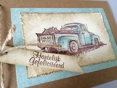 COUNTRYSIDE, STAMPIN' UP! - birthday card