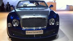 Bentley Grand Convertible Concept | LA Auto Show