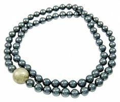 Tiffany & Co. Co Paloma Picasso Hammered Ball Hematite Bead $910