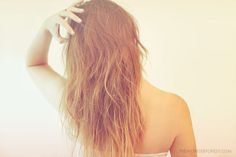 DIY Sea Salt Spray for Instant Beachy Hair!