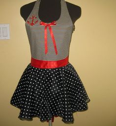Sailor girl apron by byemilyrose on Etsy, $45.00