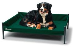 Raised Dog Bed For Large Dogs ~ http://modtopiastudio.com/the-unique-raised-dog-bed-for-the-beloved-pet/