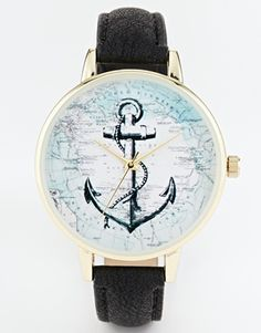 ASOS+Anchor+Map+Watch