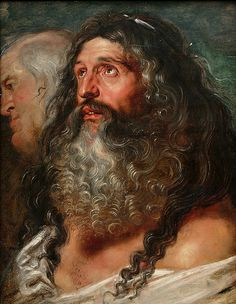 "Peter Paul Rubens ""Study of Two Heads"""