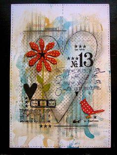 Artist Trading Post: Wendy Vecchi's art journals.