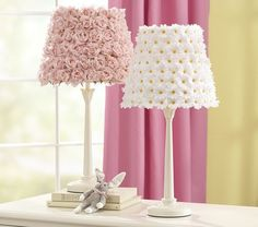 Flower Shade & Madison Touch Base - traditional - children lighting - - by Pottery Barn Kids
