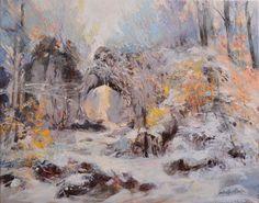 Kolory zimy- 40x50 oil on canvas