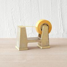 FUTAGAMI IHADA brass tape dispenser | Mr Kitly