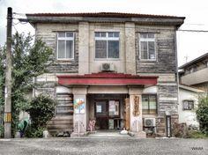 笠岡港の近代建築(岡山県製粉製麺工業協同組合事務所)を使った子ども劇場笠岡センター